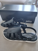 Used Melissa Black Sandals US6 in Dubai, UAE