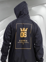 Used SUPRA Brand jacket black & Gold (New) in Dubai, UAE