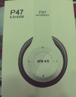Used P47 WIRELESS HEADPHONES STYLISH in Dubai, UAE