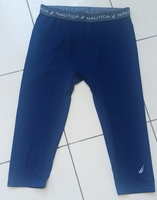 Used NAUTICA blue layer under 3/4 pant NEW in Dubai, UAE