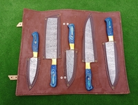 Used Damascus chef knife set in Dubai, UAE