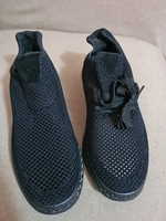 Used Brand new black unisex shoes size 40/41 in Dubai, UAE