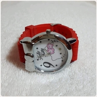 """Used Red hello kitty watch brand new """", in Dubai, UAE"""