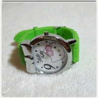 """Used Green hello kitty watch for lady """", in Dubai, UAE"""