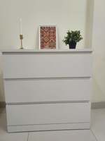Used White 3 drawers Chest IKEA خزانة ادراج in Dubai, UAE