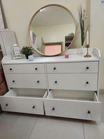 Used White Chest of 6 drawers وحدة ادراج in Dubai, UAE