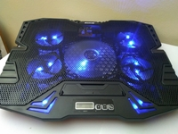 Used 5 Fan laptop cooling pad  bue in Dubai, UAE