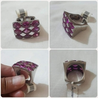 Used Authentic silver Ring size- 8 *** in Dubai, UAE