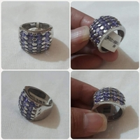 Used Silver Ring available sizes-8-9 ** in Dubai, UAE