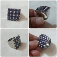 Used Authentic silver Ring size-7 *** in Dubai, UAE