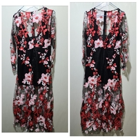 Used Brand new floral tulle dress size M toL in Dubai, UAE