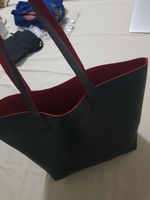 Used Black and red inside tote in Dubai, UAE