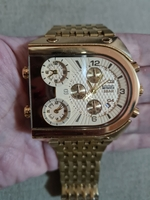 Used Brand new Extra large men golden watch in Dubai, UAE