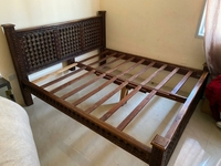 Used Rosewood Queen-Sized Bed in Dubai, UAE