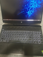 Used Hp Pavillion gaming laptop+gaming mouse in Dubai, UAE