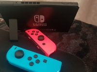 Used Nintendo switch v2 comes with 2 games in Dubai, UAE