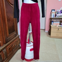 Used Red pants size  S/M in Dubai, UAE