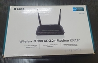 Used D link router 4m internet cable in Dubai, UAE