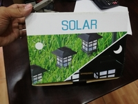 Used Solar light  for garden set of 6 in Dubai, UAE
