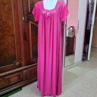 Used Silky touch pink sleeping dress size M in Dubai, UAE