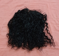 Used Ladies curled fashioned wig in black ! in Dubai, UAE