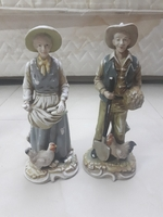 Used Vintage porcelain farmers couple *** in Dubai, UAE