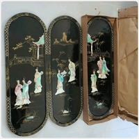 Used Antique 3pcs Japanese lacquered**** in Dubai, UAE