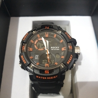 Used Mens/boys sportswatch with box new in Dubai, UAE