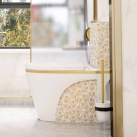 Used White Luxury toilet design model in Dubai, UAE