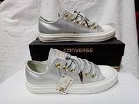 Used CONVERSE ALL STAR SILVER (size 38) in Dubai, UAE