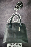 Used Burberry Check Dome Shape Handbag 👜 in Dubai, UAE