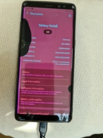 Used Samsung galaxy Note 8 screen damaged in Dubai, UAE