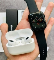 Used T500 SMART WATCH SERIES 5 & AIRPODS PRO in Dubai, UAE