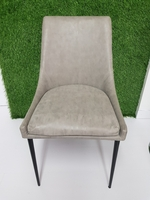 Used Dining Chairs (6nos)- Grey in Dubai, UAE