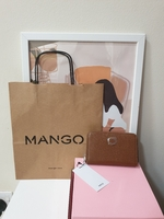 Used Brand New Mango Wallet. With paper bag in Dubai, UAE