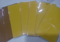 Used Leather repair patch 10 pieces brand new in Dubai, UAE