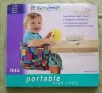 Used Tommee Tippee Portable High Chair in Dubai, UAE