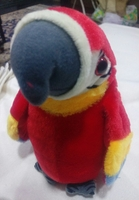 Used Macaw parrot soft toy battery operated in Dubai, UAE