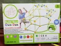 Used DIY tent fortress toy in Dubai, UAE