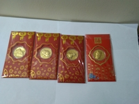 Used lucky money Evelope Gold coin-fu red 4pc in Dubai, UAE