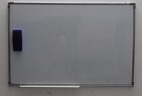 Used White board with magnetic duster(OFFER) in Dubai, UAE