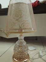 Used Crystal brand new touch and switch lamp in Dubai, UAE