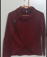 Used Maroon sweater for her , m size ! in Dubai, UAE