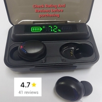 Used F9-5  earbuds Stereo Sound LCD Display in Dubai, UAE