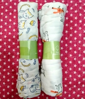 Used Two big Muslin squares for baby 🐥 in Dubai, UAE