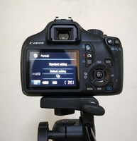 Used Canon 1100D With 18-55mm Lens Like New in Dubai, UAE