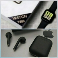 Used T500 smart watch and free pods ele1 in Dubai, UAE