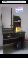 Used Big table with mirror and drawers in Dubai, UAE