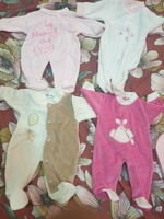 Used New smart baby body suits.. 0-3 months in Dubai, UAE