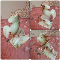 Used Horse made by pure marbles, in Dubai, UAE